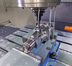 Custom Prototyping 3-D machining of Solid Steel for the Truck Engine Industry